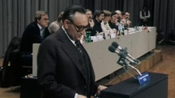 Egon Bahr, Bundesgeschäftsführer der SPD