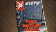 """""""Stern""""-Titel zu Hitlers angeblichen Tagebüchern © NDR"""