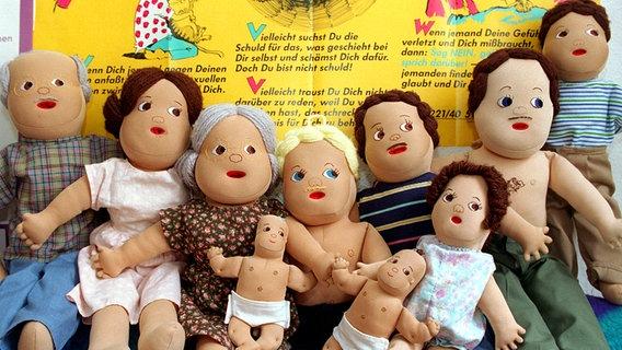 Anatomischen Puppen © dpa - Bildarchiv Foto: Werner Baum