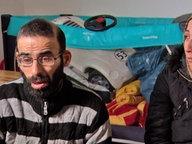 Die Eltern von Rana, Ibraheem und Nisrin A., im Interview mit Panorama 3.