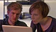 Lukas Augustin und Birgit Wärnke