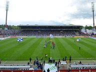Das Wildparkstadion in Karlsruhe. © picture-alliance Fotograf: Markus Gilliar