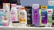 All diese Produkte enthalten Mikroplastik.