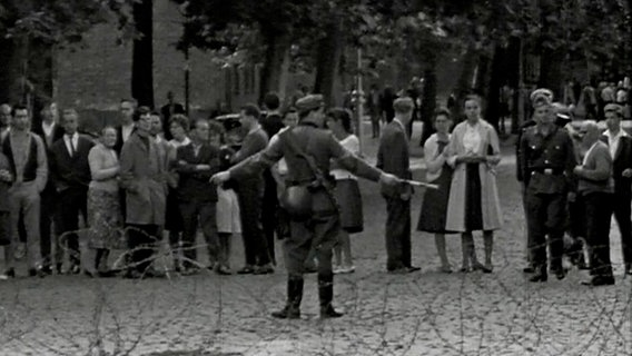 Bild vom Mauerbau in Berlin am 13. August 1961 © NDR / ARD