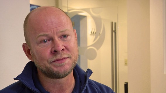 Sven Goldbach arbeitet als Palliativpfleger.