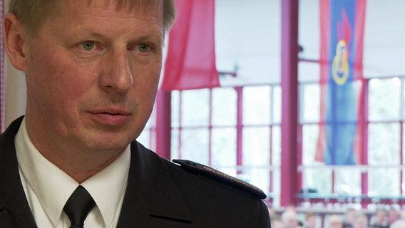 Hannes Möller, Verbandsvorsitzender der Landesfeuerwehrverbandes