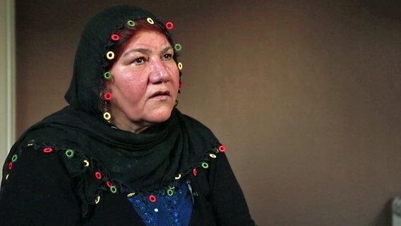 Mutter des Opfers, Hayriye K