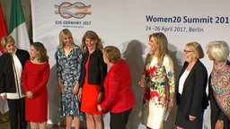 Frauen beim G 20 Women Summit 2017
