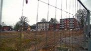 Eine freie Grundstücksfläche in Hamburg-Bahrenfeld
