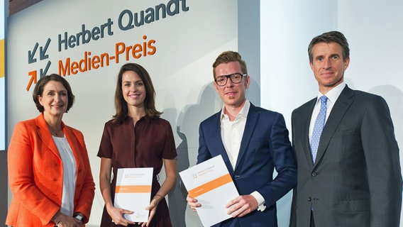 Panorama - die Reporter: Quandt Medien-Preis © Johanna-Quandt-Stiftung Foto: Johanna-Quandt-Stiftung