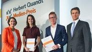 Panorama - die Reporter: Quandt Medien-Preis © Johanna-Quandt-Stiftung Fotograf: Johanna-Quandt-Stiftung