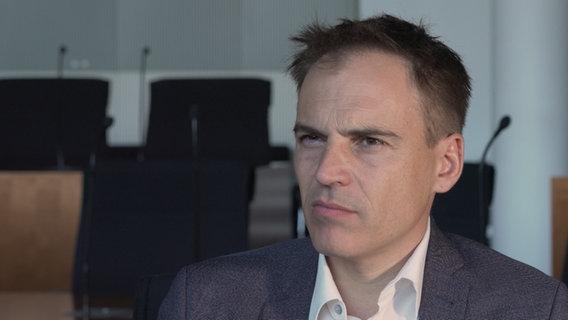 Gerhard Schick, Finanzexperte der Grünen und Initiator des Cum-Ex-Untersuchungsausschusses des Bundestags © NDR Foto: Screenshot