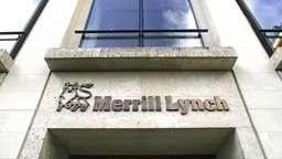 Merrill Lynach Bank © picture-alliance