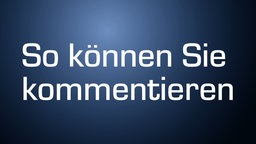 Kommentarfunktion © NDR Foto: Screenshot