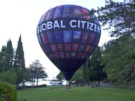 Global Citizen Ballon © NDR Fotograf: Screenshot