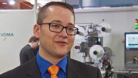 Steffen Zimmermann vom VDMA