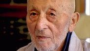 Walter Plywaski, Auschwitzüberlebender © NDR Foto: Screenshot