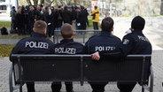 Polizeischüler der Polizeiakademie Berlin