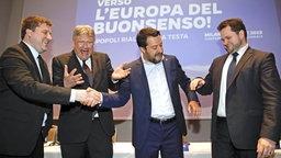 Vereinigte europäische Rechte: Mehr Wunsch als Wirklichkeit? | Das Erste - Panorama - Sendungen - 2019