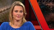 Panorama Moderatorin Anja Reschke zu Gast bei Günther Jauch. © NDR