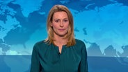 Anja Reschke in den Tagesthemen vom 08. Januar 2016.  Foto: Screenshot