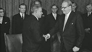 Vertragsabschluss 1959 zwischen Pakistan und Deutschland