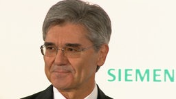 Siemens-Chef Joe Kaeser © NDR Fotograf: Screenshot