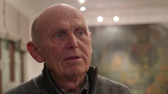 Rolf Müller, Vorsitzender des Heimat- und Kulturvereins © NDR Foto: Screenshot