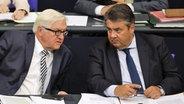 Steinmeier und Gabriel  Fotograf: Markus Schreiber