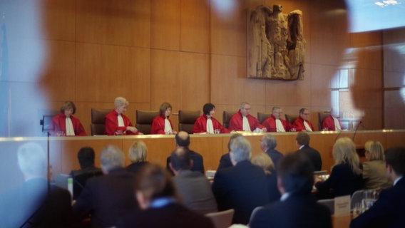 Das Bundesverfassungsgericht © NDR Foto: Screenshot