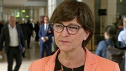 Saskia Esken, SPD-Chefin © NDR/ARD Foto: Screenshot