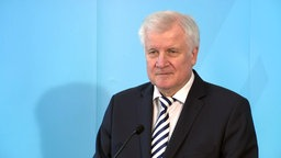 Horst Seehofer © NDR Foto: Screenshot