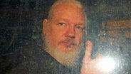 Julian Assange © NDR Foto: Screenshot