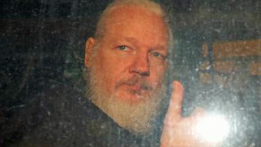 Julian Assange © NDR Foto: Screenshot