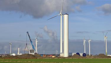 Kleinere Altanlagen weichen im Rahmen einer sogenannten Repowering-Maßnahme größeren Windrädern © NDR Fotograf: Screenshot