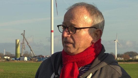 Reiner Böttcher, ehemaliger Mitarbeiter des Umweltministeriums in Kiel © NDR Foto: Screenshot