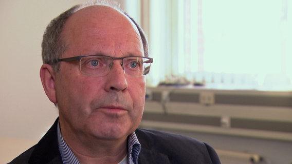 Martin Schmidt, Pressesprecher LLUR © NDR Foto: Screenshot