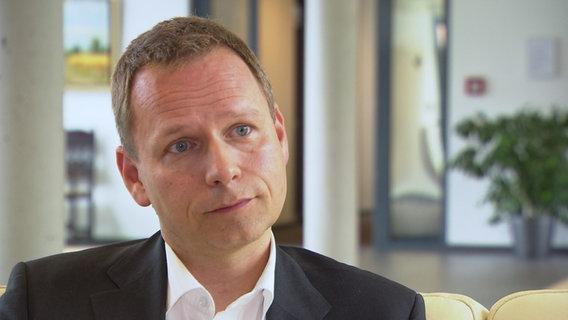 Christopher Zimmermann, Leiter des Thünen-Instituts für Ostseefischerei