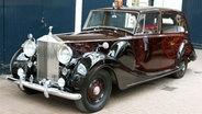 Rolls-Royce mit dem Prinz Charles und Camilla zu Prinz Williams Hochzeit fahren werden © dpa Bildfunk Foto: Dominic Lipinski